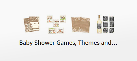 Baby Shower Games, Themes, Decor