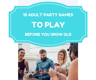 welcome party for teens playing naughty games