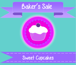 Bakers Cupcake Clipart Example