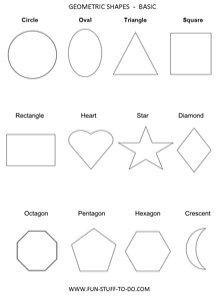 Geometric Shapes 2D