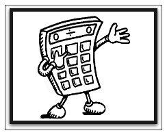 road trip activities, calculator fun, words on calculator
