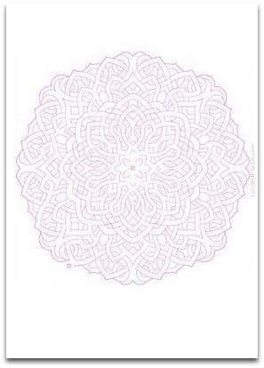 pattern maze, labyrinth