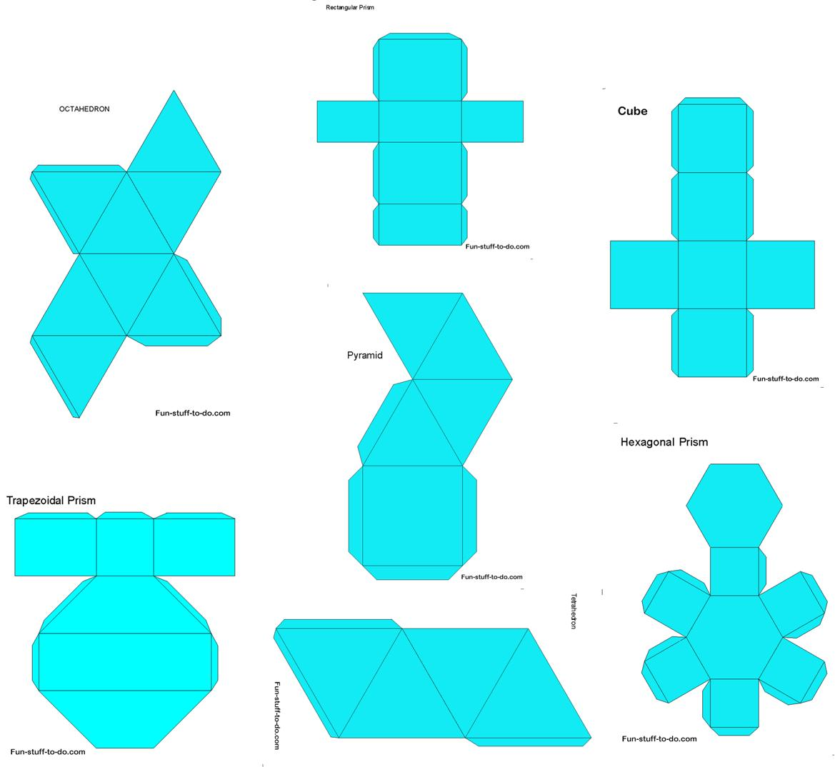 picture about Geometric Nets Printable called Printable Styles