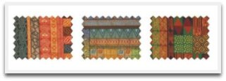 decorating fabric, potato prints, potato stamps, crafts, patterns, interesting crafts, craft ideas