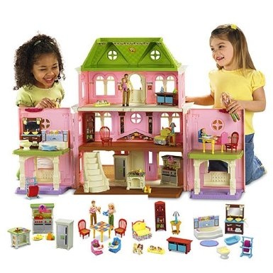 the top 5 dollhouses for kids fun stuff to do. Black Bedroom Furniture Sets. Home Design Ideas