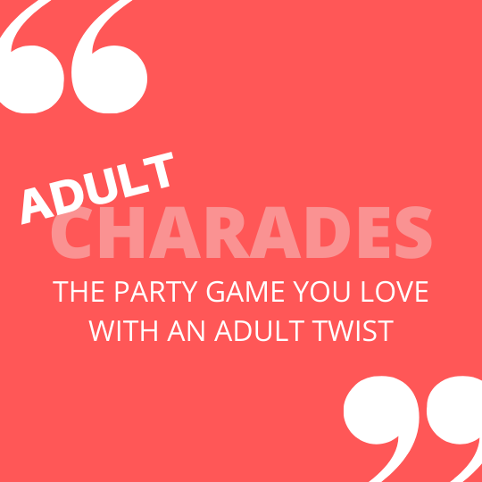 Adult Charades Printable Cards