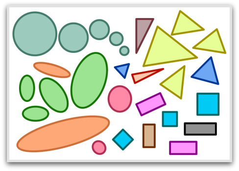 2D shapes, basic geometric shapes, solid geometric shapes, shapes, basic shapes, solid shapes, geometrik şekiller