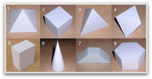 3D geometric patterns to fold