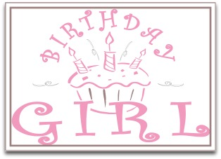 printable birthday girl banner