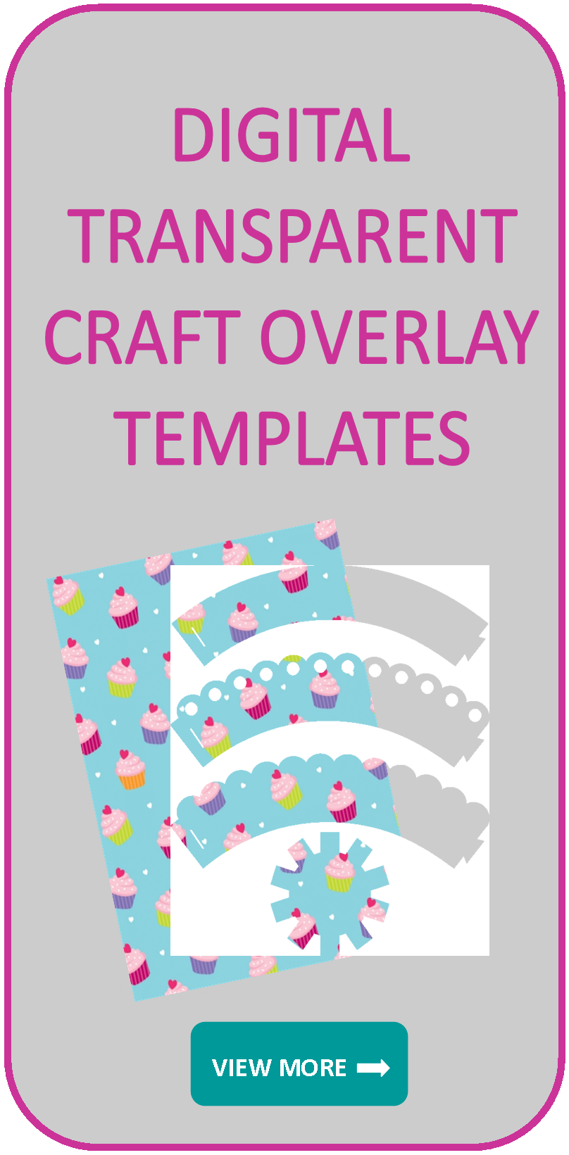 Digital transparent overlay templates
