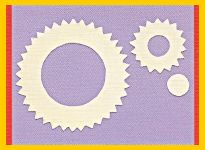 How to structure templates for embossing step 5