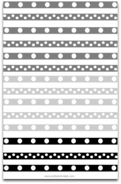 black and white polka dots, polka dot paper, polka dot decorations, polka dot border, polka dot scrapbook paper, gray polka dot