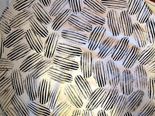 simple fabric print