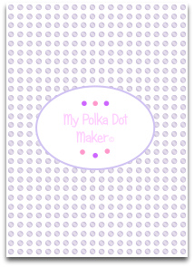 polka dots, purple, templates, printable, high resolution