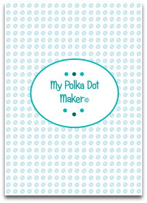 polka dots, teal, aqua, templates, printable, high resolution