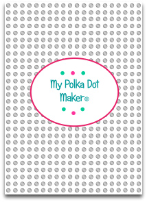 polka dots, black, templates, printable, high resolution