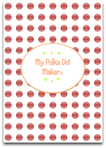 polka dot, pearls, templates, printable, scrapbook paper