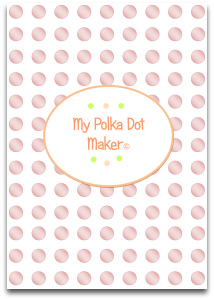 polka dots, pearly, templates, printable, craft