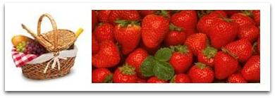 Picnic games in strawberryfield