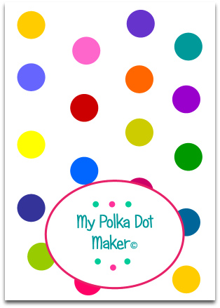 bright polka dots, polka dot template, image of polka dots, print polka dots, high resolution polka dots