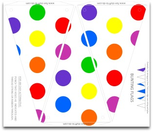 photograph relating to Free Printable Birthday Decorations known as Polka Dot Get together Decorations Free of charge Do-it-yourself Birthday Social gathering Products