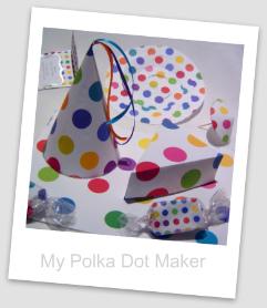 Rainbow Polka Dots Printable Paper
