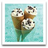 healthy snack, healthy treat, cones, easy treats, easy dessert