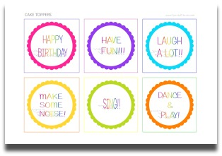 picture regarding Printable Party Decorations called Rainbow Get together Decorations Enjoyable Do it yourself Events and Themes