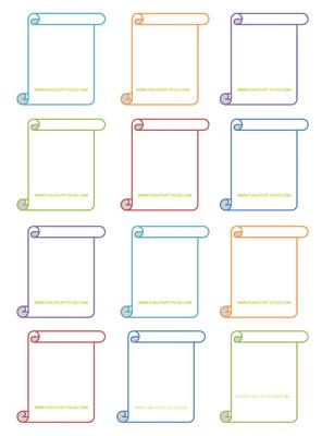 Free Blank Charades Cards