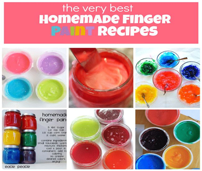 best finger paint recipes,  20 July 2010