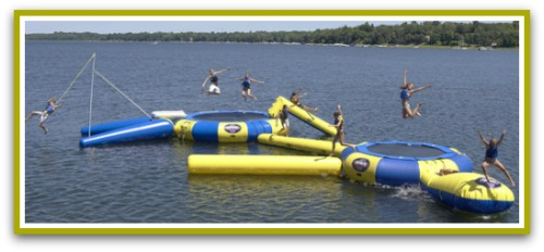 best water trampoline for water park