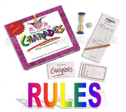 charades game rules