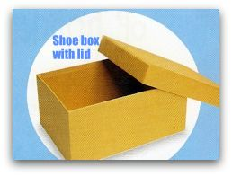 shoe box for craft toolbox for kids