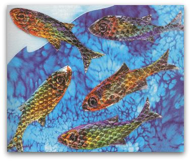 Multi Color Shiny Fish Make Craft Easy