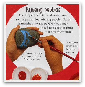 How to paint your pebble jewellery, painting pebbles, fun ideas, easy crafts, fun crafts, creative ideas, craft materials, craft tools