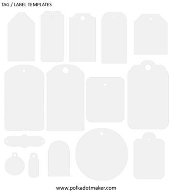free labels and tags template