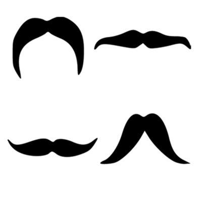 Four Other Moustache Shapes
