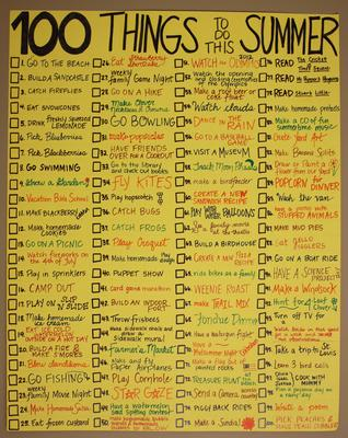 Fun stuff to do in summer for List of things to do when building a house