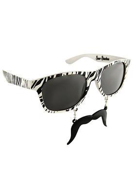 Sun Stache - Zebra