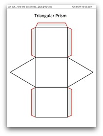 Visit The Triangular Prism Page To Print
