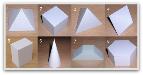 3D geometric patterns to fold
