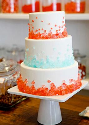 Rock Candy On Cake