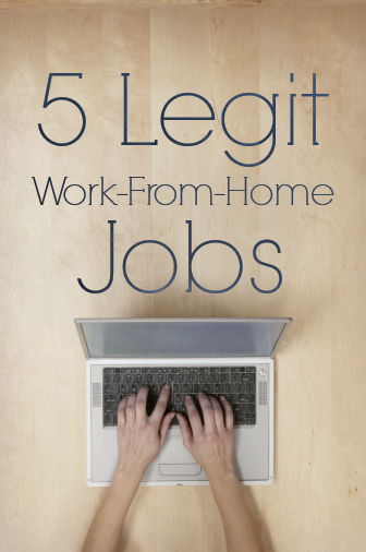 Legitimate Online Work From Home Websites