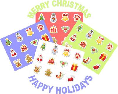 graphic regarding Merry Christmas Tags Free Printable referred to as Merry Xmas Satisfied Trip Cost-free Labels Tags
