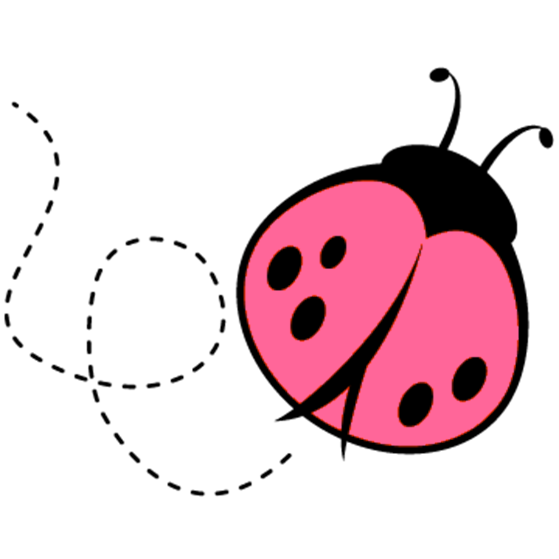 ... addition Printable Adult Coloring Pages additionally Pink Ladybug Clip