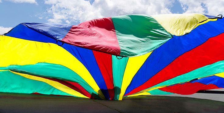 Parachute Games Fun Games