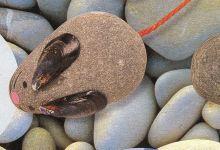 Pebble crafts, pebble faces