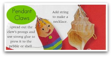 How to attach a claw to a pendant, how to make jewelry, how to make a pendant, craft ideas, craft tools,