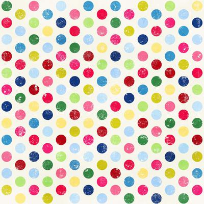 Colorful Polka Dot Paper