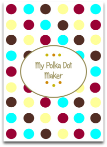 polka dots, modern color trends, latest trends, templates, color palette